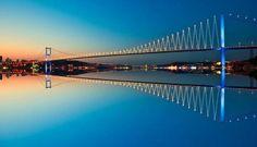 the Bosphorus Bridge :) İstanbul