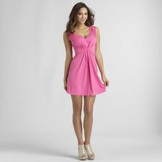 Sofia by Sofia Vergara- -Women's Gathered Dress.  We love this dress! Sweet and Simple. #DateNight