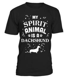 Dachshund T-Shirt - My Spirit Animal Is A Dachshund dachshund tshirt, dachshund tshirts for women, dachshund tshirt for men, dachshund tshirt for dog, dachshund tshirt for kids, dachshund tshirt for women, dachshund tshirt women