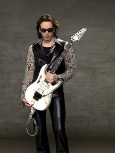 ...the guitar God that is Steve Vai
