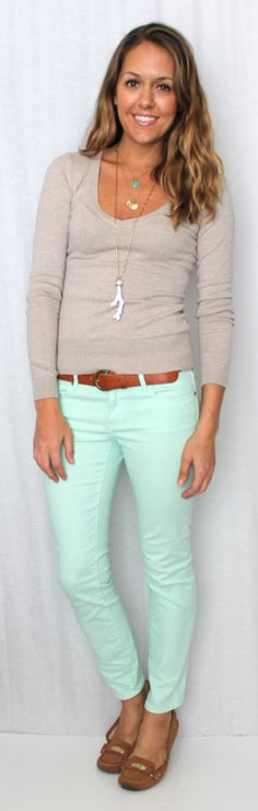 J's Everyday Fashion: Today's Everyday Fashion: Mint Condition