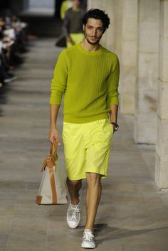 Hermès Men's RTW Spring 2013 - I love the pair of shorts