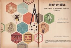in love with this math book cover design