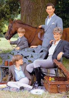 Prince Charles & family