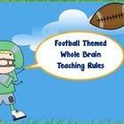 I love the program Whole Brain Teaching! I just typed up the five rules to make them match my football classroom theme. If you like this item pleas...