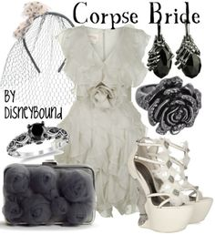 The Corpse Bride by Disneybound
