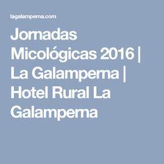 Jornadas Micológicas 2016   La Galamperna   Hotel Rural La Galamperna
