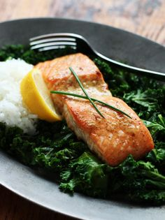 Baked Maple Dijon Salmon