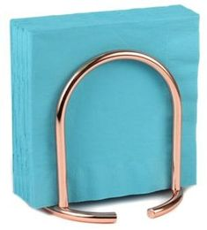 SpectrumTM Euro Napkin Holder in Copper. #copper #kitchen #affiliate