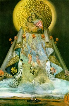 Dali - The Virgin of Guadalupe, 1959