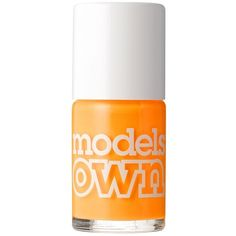 Models Own Tropical Nail Polish ($6.78) ❤ liked on Polyvore featuring beauty products, nail care, nail polish, fillers, beauty, makeup, tangerine queen and models own nail polish