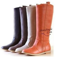 brand women autumn winter spring new boots knee-length long barreled boots women's shoes 35-39   XWX112