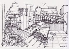 DRAW & SKETCH: how to draw landscape 230110