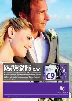 No trendy #WeddingDiets. #C9 allows you to improve your health and fitness habits - it doesn't stop at 'I do'! #FIT4Life http://link.flp.social/veOITO