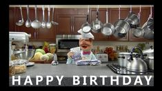 Happy Birthday from the Swedish Chef - Happy Birthday Funny - Funny Birthday meme - - Happy Birthday from the Swedish Chef The post Happy Birthday from the Swedish Chef appeared first on Gag Dad. Silly Birthday Wishes, Happy Birthday Chef, Happy Birthday Song Youtube, Happy Birthday Brother Funny, Brother Birthday Quotes, Happy Birthday Video, Best Birthday Quotes, Birthday Blessings, Birthday Songs