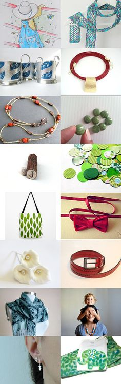 Green mile by Natali on Etsy--Pinned with TreasuryPin.com