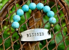 Blessed Bracelet in Turquoise.