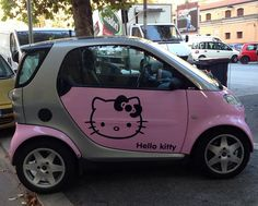 Hello Kitty si e' fatta la macchina! | Flickr - Photo Sharing!