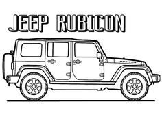 38 Best Jeep Coloring Book Images In 2020 Jeep Coloring Pages