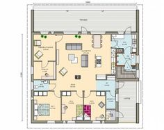 Kastelli - Aitio 144/164 House Plans, Floor Plans, Flooring, How To Plan, Building, Home, Decor, Highlights, Construction