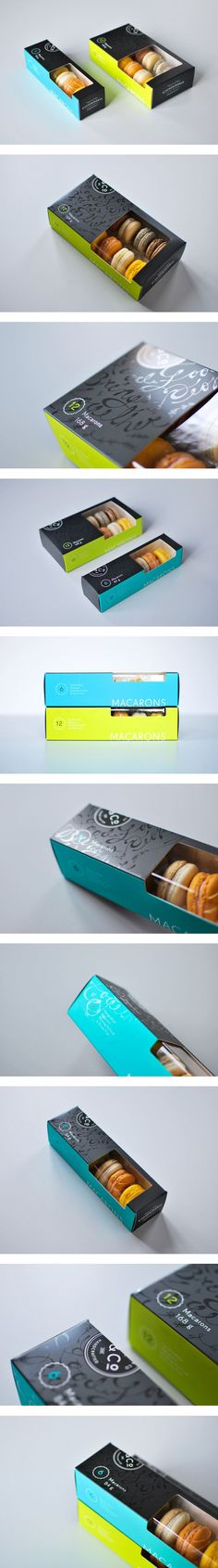 Kitchening & Co. Macaron Packaging