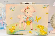 Sweet Vintage Child's Suitcase