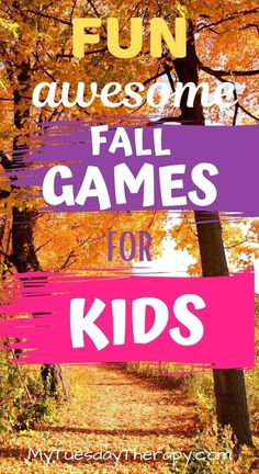 Fall Games for Kids and Teens