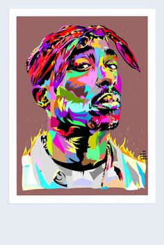 "Tupac Shakur 18""x24"" Signed Poster"