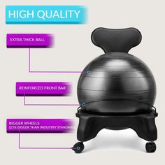 best yoga ball chair reviews craigslist dining table and chairs 10 top in 2018 buying luxfit