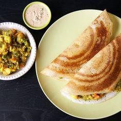 Hairstyle Ki Vidhi : Crispy South Indian savory crepe with a delicious potato masala ...