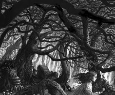The Spooky Forest (Ruth Sanderson, cropped)