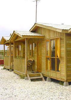 Casas de madera prefabricadas cabanas prefabricadas para - Casetas de campo ...