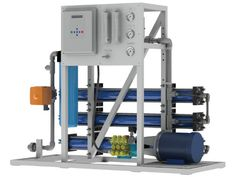 Crystal Quest® Commercial De-Salination Systems. Reverse Osmosis for Salt Water Systems. Ideal for cruises, container ships, businesses close to the ocean that need contaminant-free, crisp, clean water.