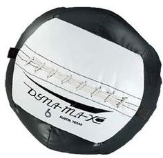 Dynamax Medicine Balls have a soft feel. The stuffed balls have a heavy duty, vinyl coated nylon cover.