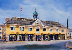 TETBURY MARKET HALL FROM LONG STREET