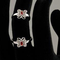 // Inel reglabil din argint model fluturas doar pe www. Silver Rings, Brooch, Model, Jewelry, Jewlery, Jewerly, Brooches, Scale Model, Schmuck