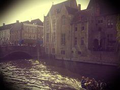Sunset in Brugge