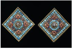 Pair of earrings      Place of origin:      Nepal (made)     Date:      18th century or 19th century (made)