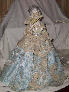Half doll on Ebay