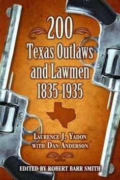 The story of Texas's most famous criminals, intrepid lawmen, and others, such as James Edwin Reed, who dared to be both.  The criteria for inclusion in this book was that each outlaw had to have been involved in at least two gunfights or robberies.  This reference also includes a chronology of well-known crimes and a locale list of notorious events.