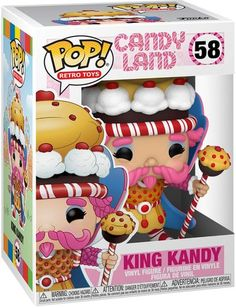 Candy Land Characters, Candy Castle, Pet Monsters, Funko Pop Anime, All Candy, Toys Land, Funko Toys, Gift Card Number, Figurine