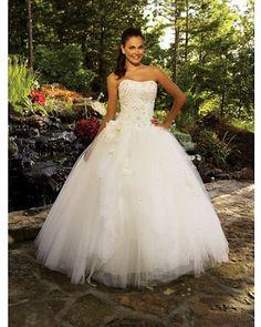 Vestidos blancos de princesa
