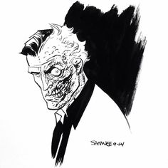 Two-Face by Chris Samnee