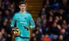 Chelsea goalkeeper THIBAUT COURTOIS fires warning shot to his team-mates and claims 'we are playing for our futures'...