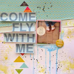 SCRAP & my favourite things: LO come fly with me