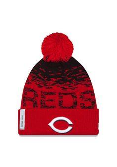 New Era Cincinnati Reds Red 2016 Sport Knit Hat