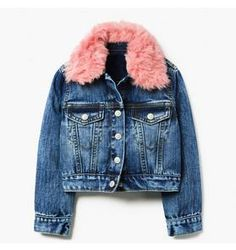Girl Medium Indigo Furry Collar Denim Jacket by Gymboree Cute Girl Outfits, Toddler Outfits, Kids Outfits, Travel Outfits, Little Girl Fashion, Kids Fashion, Little Fashionista, Girls Shopping, Gymboree