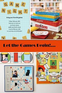 Game night party. Sounds like a fun thing to do! Kids need good association and to have gatherings.