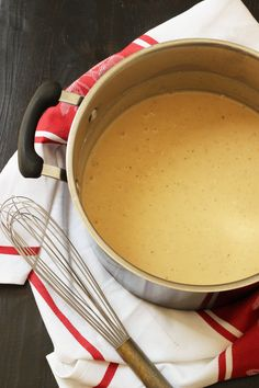 Easy Homemade Cream of Chicken Soup for Cooking - Good Cheap Eats Casserole Recipes, Soup Recipes, Easy Recipes, Real Food Recipes, Cooking Recipes, Greek Recipes, Sauces, Soup Starter, Dulce De Leche