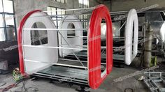 Mobile Restaurant Trailer/ Fry Ice Cream Roll Trailer/ Fast Food Carts For Selling Food Truck For Sale